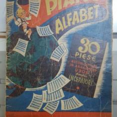 Piano Alfabet, 30 piese de autori celebrii în aranjament ușor pentru începători