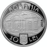 BNR, moneda argint 10 lei 2014, Elena Vacarescu
