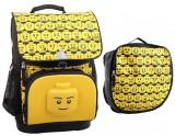 Cumpara ieftin Ghiozdan scoala Optimo + sac sport, LEGO Core Line - design Minifigures Heads