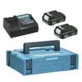 Pachet incarcator doi acumulatori Power Source Kit Makpac1 BL1015 x2 DC10SA 10.8 V