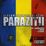 CD audio Paraziții ‎– Slalom Printre Cretini Mix