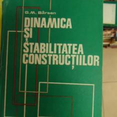 Dinamica Si Stabilitatea Constructiilor - G. M. Barsan ,548863
