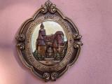 Panoplie ceramica emailata,Vlad Tepes,castelul Bran