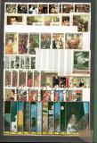 Manama.Lot peste 680 buc. timbre+129 buc. colite stampilate serii si dep. DL.41, Asia