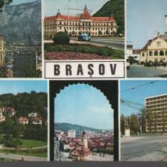 CPI B 11575 CARTE POSTALA - BRASOV, MOZAIC, Circulata, Fotografie