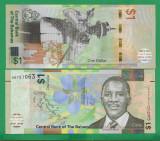 = BAHAMAS - 1 DOLLAR - 2017 - UNC   =