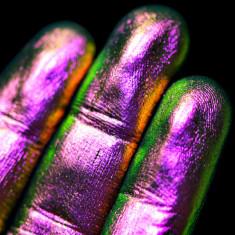Pigment PK45(visiniu-roz-verde-cupru) Multichrome pentru machiaj KAJOL Beauty, 1g