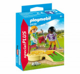 Playmobil Special Plus, Figurine jucand minigolf