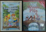Doua dvd-uri cu ursuletul Winnie de plus ,desene animat, Romana