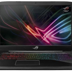 Laptop Gaming ASUS ROG GL703GS-E5011 (Procesor Intel® Core™ i7-8750H (9M Cache, up to 4.10 GHz) Coffee Lake, 17.3 FHD, 16GB, 1TB HDD@5400RPM + 256GB S