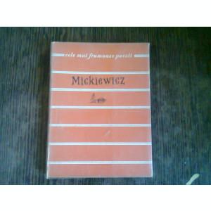 MICKIEWICZ - POEZII