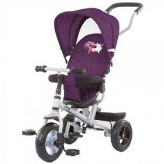 Tricicleta cu Copertina si Sezut Reversibil Maxride Purple, Chipolino