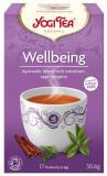 Ceai Bio WELLBEING - Mereu Tanar, 30.6gr Yogi Tea