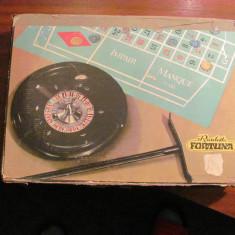 PVM - Joc de colectie ROULETTE / Ruleta (d = 25 cm)  vechi complet / Germania