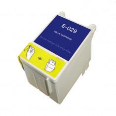 Cartus compatibil T029 Tricolor pentru Epson Stylus Color C60, 40 ml