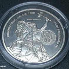 Romani Mari medalie argint pur Mihai Viteazul