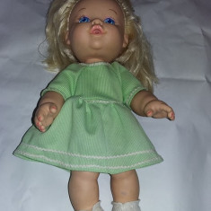 papusa veche 1989,baby doll,de colectie,HASBRO 1989,Made in CHINA,T.GRATUIT