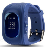Ceas GPS Tracker si Telefon iUni Kid60, Apel SOS, Activity and sleep, Dark Blue