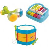 Cumpara ieftin Set muzica Little Tikes - xilofon, toba, maracas
