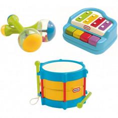 Set muzica Little Tikes - xilofon, toba, maracas