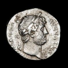 Moneda  argint Denarius - Hadrian[117-138] Imperiul Roman