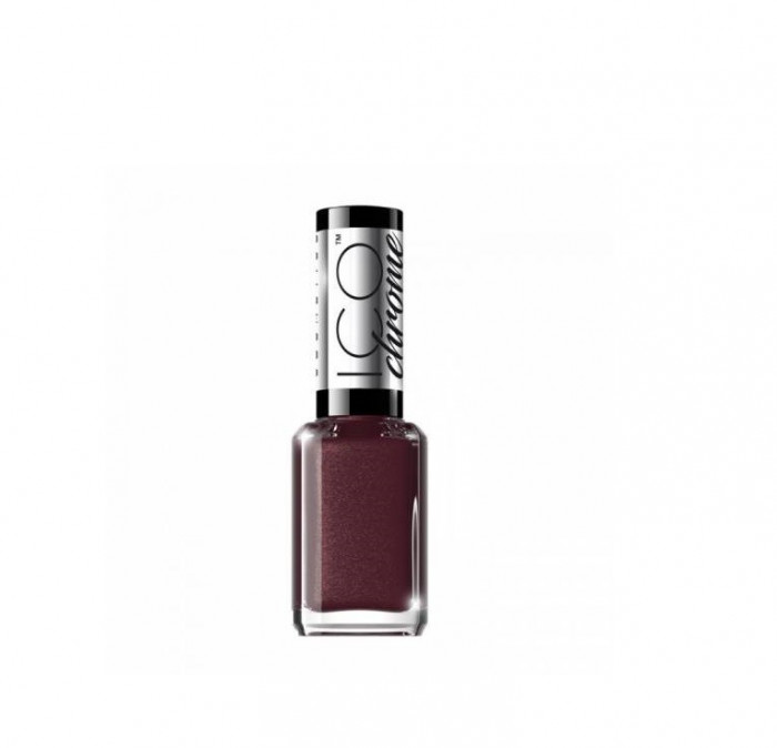 Lac de unghii, Eveline Cosmetics, ICO Chrome COLLECTION, Fast Dry & Long-Lasting, Nr. 48, 12 ml
