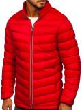 Cumpara ieftin Geacă de iarnă sport bărbați roșie Bolf 1100