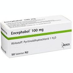 Supliment, Merck, Encephabol, Diclorhidrat de Piritinol, 50 tablete
