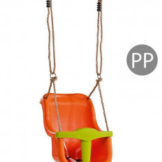 Leagan Baby Seat Luxe Culoare Orange/Lime Green franghie PP 10