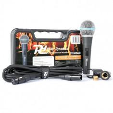 Power Dynamics PDM660, microfon condensator, XLR +48V