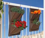 Cumpara ieftin Set 2 suporturi pentru plante Brown Nidalee