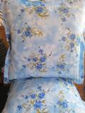 Perne colorate Albastru,set 2 bucati, Marime 65×65 cm