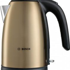 Fierbător de apă Bosch, 2200W, auriu TWK7808