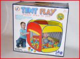 Cort de joaca pentru copii cu 50 de bile colorate incluse - Jucarie distractiva