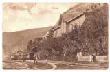 5185 - BAZIAS, Caras Severin, Railway Station Romania - old postcard - used 1924