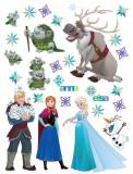 Sticker Personaje Frozen si Trolii - 65x85cm - DK2303, AG