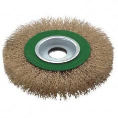 Perie de sarma circulara Troy T27704 200 200 mm