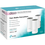 Sistem wireless Mesh Complete Coverage - router AC1200 ,Deco E4(3-pack)