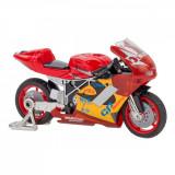 Motocicleta Globo Spidko, 1:18, Rosu