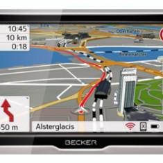 Sistem Navigatie GPS Auto Becker Professional 5.0 LMU Harta Full Europa, Toata Europa, Lifetime