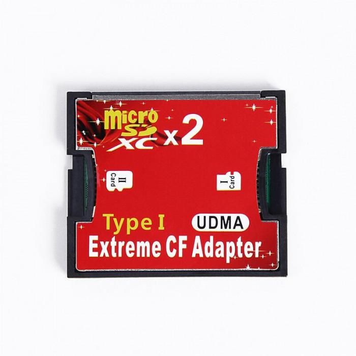 Adaptor carduri Micro SD TF SDHC la CF Compact Flash Tip I Card adaptor