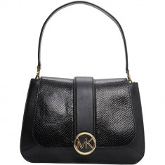 Lillie Leather Flap Bag