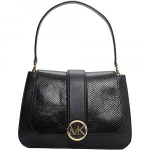 Lillie Leather Flap Bag