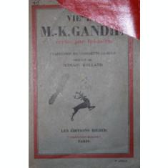VIE DE M , - K . GANDHI - GEORGETTE CAMILLE ( TRADUCATOR )
