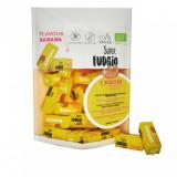 Cumpara ieftin Caramele bio cu aroma de banane ,150g