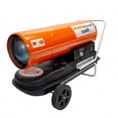 Tun de aer cald cu ardere directă, 50kW, 56l, Ruris Vulcano 5000