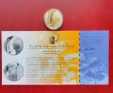 """Moneda de argint - 10 Euro 2003, """"Georges Simenon"""" Belgia, Europa"""
