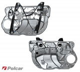 Mecanism ridicare geam Volkswagen Polo 9N 5 usi 2001-2005 stanga electrica, electrica Kft Auto