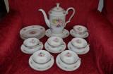 SERVICIU PORTELAN ROSENTHAL - Ceai - Cafea - Bavaria -Form Coburg -1930 -6 pers.