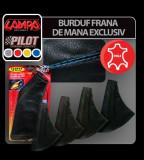 Burduf frana de mana Exclusive - Negru/Gri - CRD-LAM05056 Auto Lux Edition